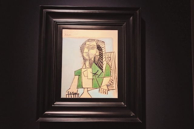 Картина Пабло Пикассо в музее в Вероне