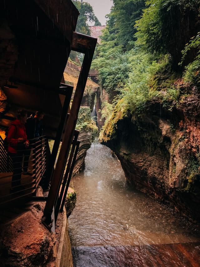 Каньон Понте Альто в Тренто