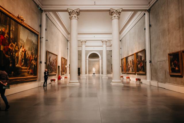 Галерея в Палаццо Пилота в Парме