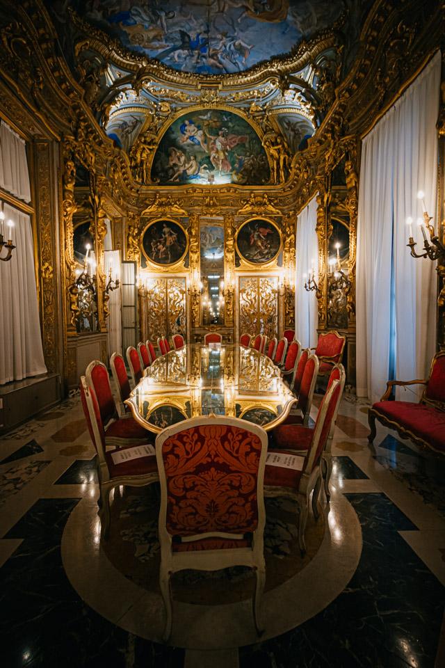 дворец Тобия Паллавичино на улице Гарибальди в Генуе