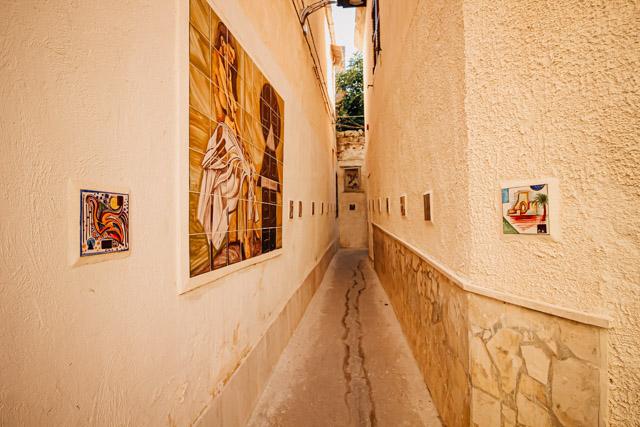 Мадзара дель Валло город на острове Сицилия в Италии