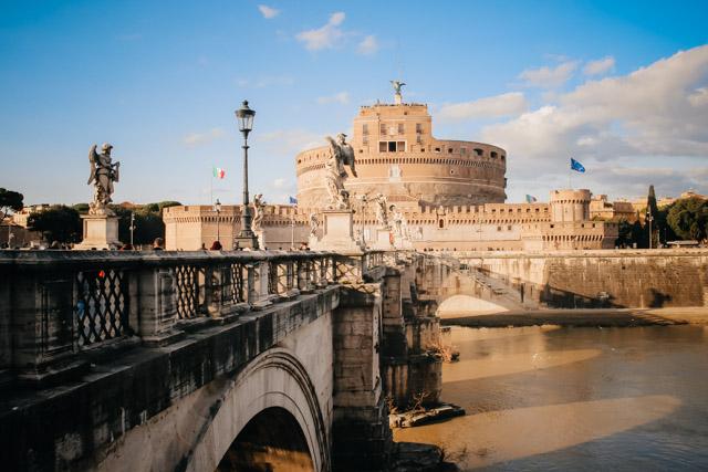 Замок Сант Анжело в Рим