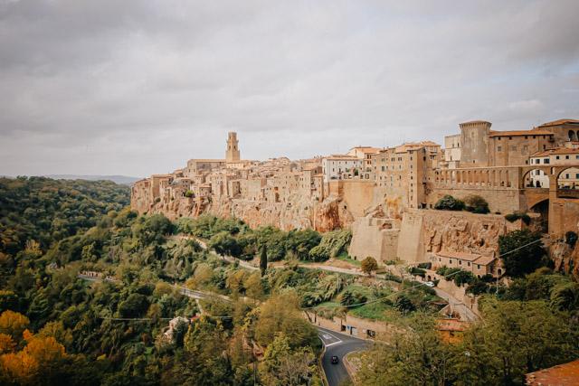 Город Питильяно в Тоскане
