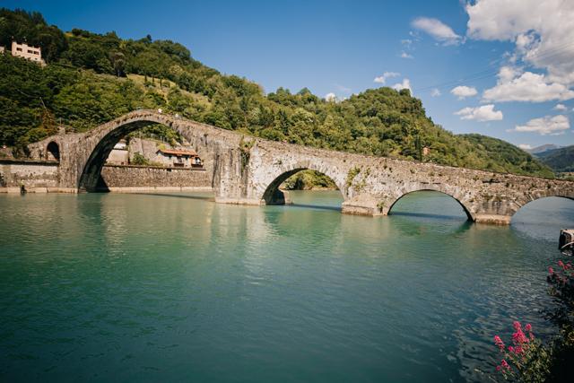 мост дьявола в Тоскане