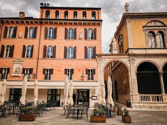 Кафе Данте в Вероне