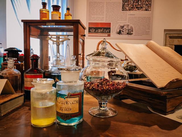 Музей парфюма В Санта Мария Маджоре на севере Италии