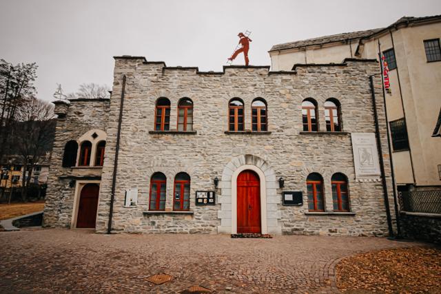 Музей трубочистов в Санта Мария Маджоре в долине художников Виджеццо на севере Италии