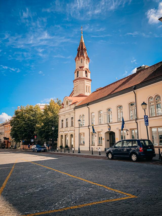 никольская церковь в Вильнюсе