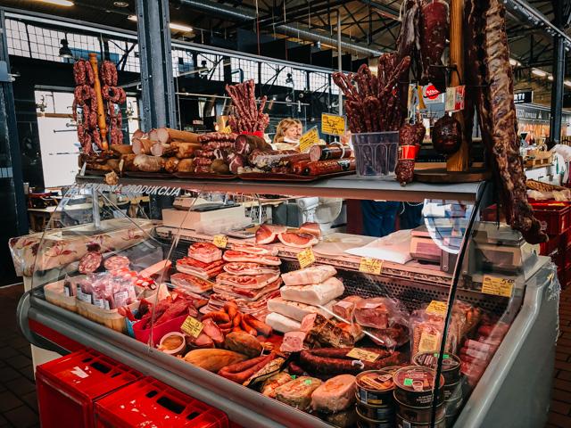 рынок в центре вильнюса