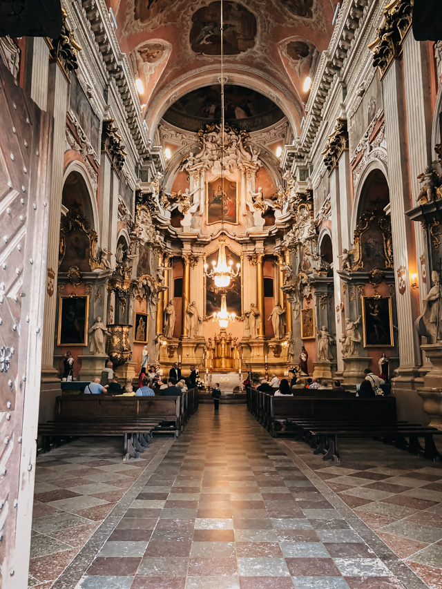 Церковь святой Терезы в Вильнюсе