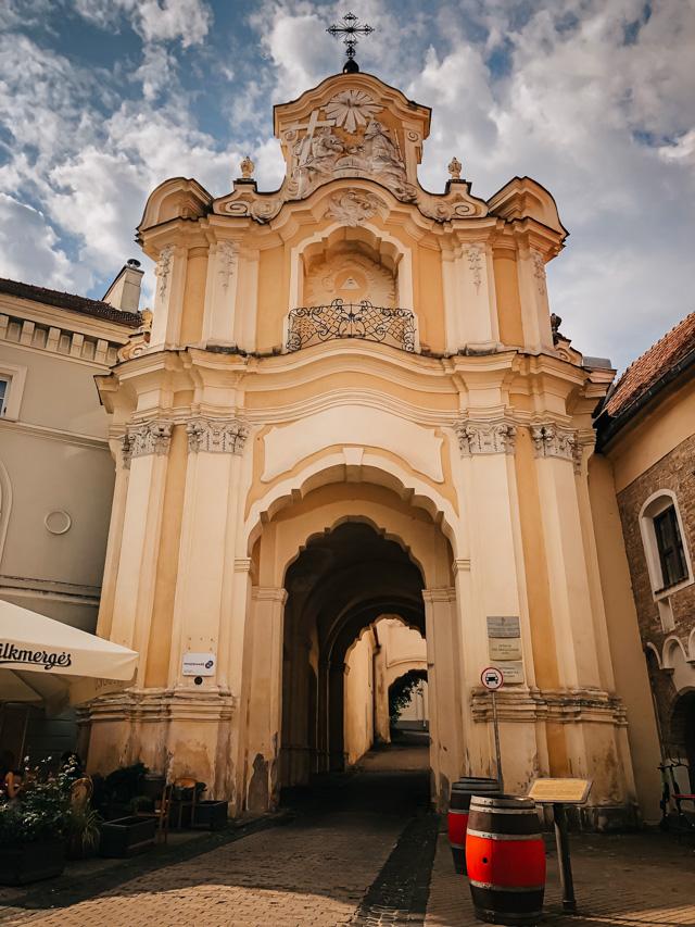 Церковь святой Троицы в вильнюсе
