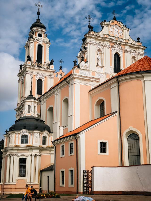 церковь святой Екатерины в Вильнюсе