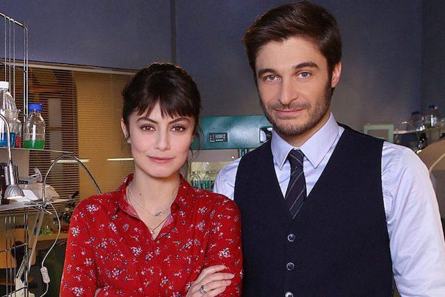 Актеры итальянского детективного сериала l'Allieva