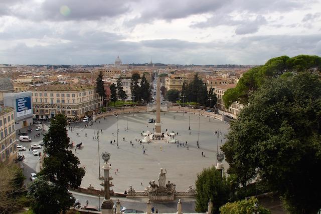 Рим за 3 дня, что посмотреть в Риме, Рим маршруты прогулок, что посмотреть в Риме, Пьяцца дей попполи