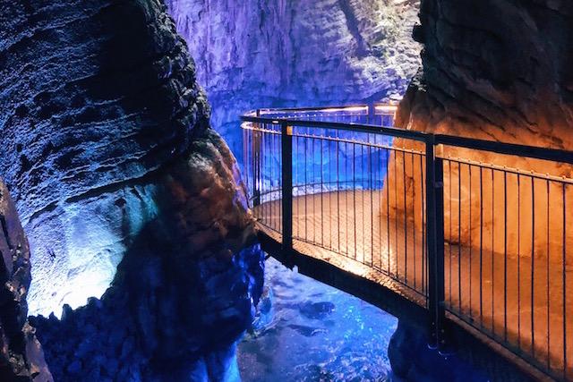 Водопад Вароне озеро Гарда