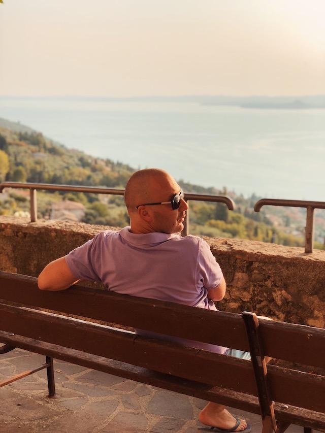 Вид на озеро Гарда из Альбизано Гарда площадки гарда Италия гарда что смотреть гарда Панорамные площадки на озере Гарда ozero garda panoramnie ploshadki