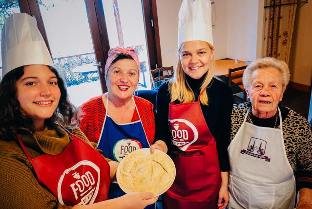 кулинарный мастер-класс в Италии