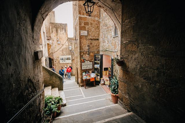 на фото гетто Питильяно в Тоскане, Италия