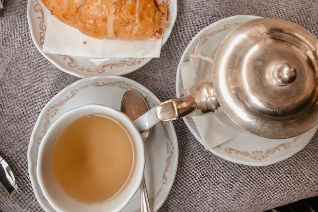 В Италии чай пьют