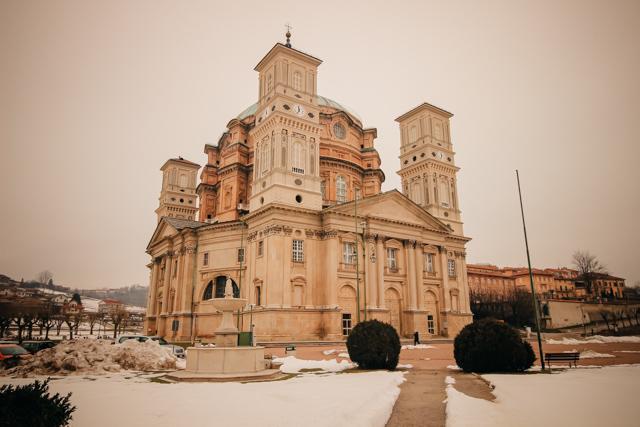 храм в Викофорте Италии, регион Пьемонт